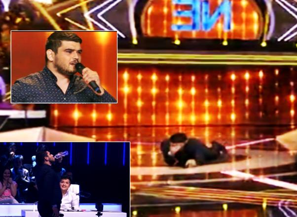 MNOGO POTRESNE SCENE U ZVEZDAMA GRANDA: Prijavio se da bi vratio bivšu djevojku, plakao i bacao se po podu!