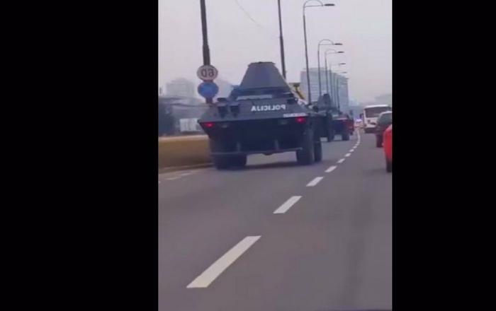 ŠTA SE DEŠAVA? Građani uznemireni: Zašto su oklopna vozila policije na ulicama Sarajeva?